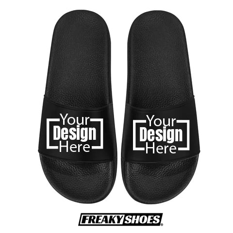 https://freakyshoes.com/collections/custom-slides