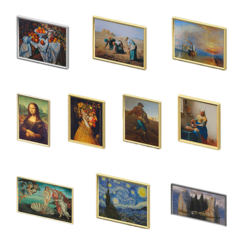 ALL 30 REAL PAINTINGS
