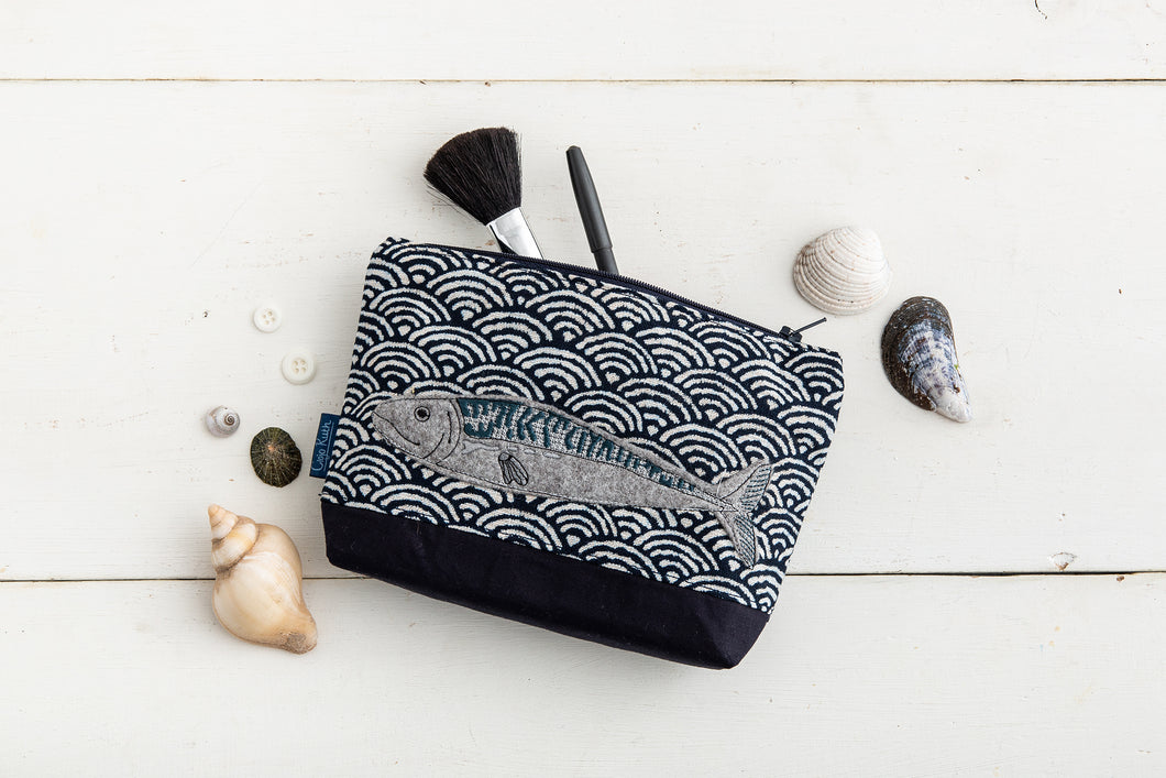Mackerel Make-up Bag