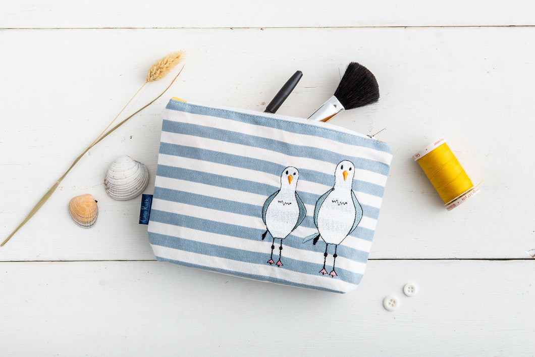 Cheeky Seagull Make-up Bag