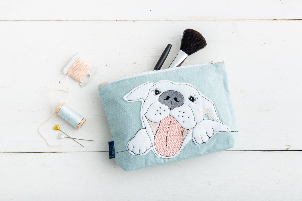 Staffy Make-up Bag
