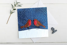 Load image into Gallery viewer, Robins Charity Christmas Card