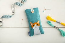 Load image into Gallery viewer, Ginger Cat Glasses Case
