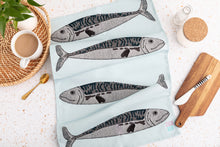 Load image into Gallery viewer, Mackerel Tea Towel