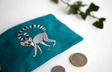Load image into Gallery viewer, Ring Tailed Lemur Coin Purse