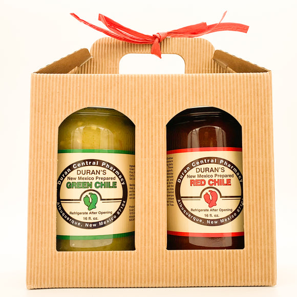 Chile Gift Box - Red + Green
