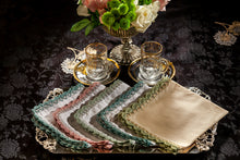 Load image into Gallery viewer, Medley cocktail napkin(Mint), set of 2
