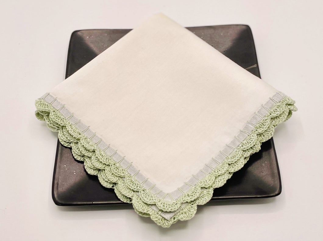 Medley cocktail napkin(Mint), set of 2