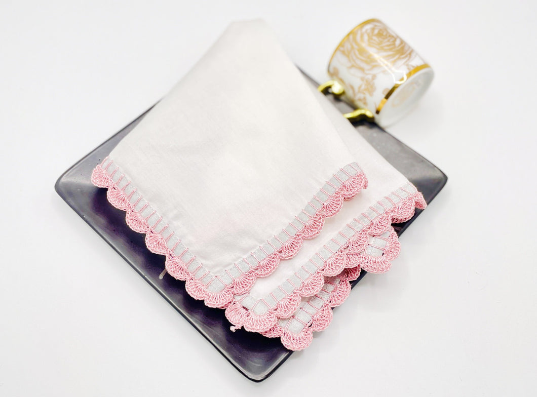 Medley cocktail napkins (Pink), set of 2