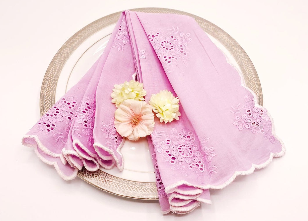Pallette Napkin (Lilac), set of 2