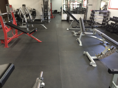 rubber floors for your home gym