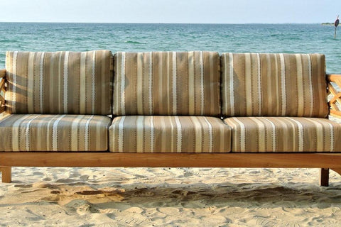Sunbrella fabric cushions Word of Mouth Floors outdoor patio furniture