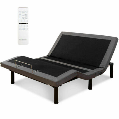 Electric Wireless Adjustable Bed with Massager