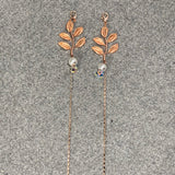 Rose Gold Pearl and Leaves Mary - 2020 Fall Collection