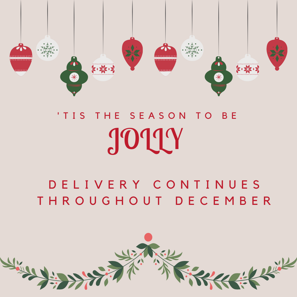 20.  Delivery Throughout December
