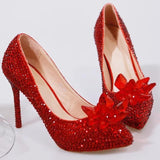 Luxury Crystal Shoes