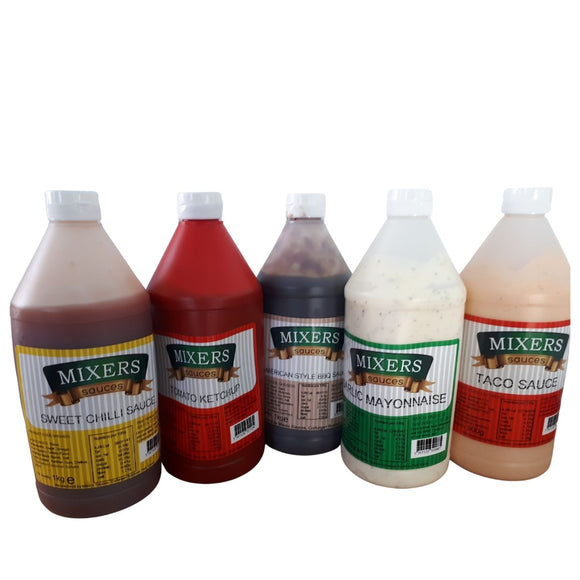 Mixers range of Sauces  1 Ltr - CMKfoods