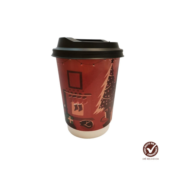Christmas Edition Hot Cups DW 12oz - CMKfoods