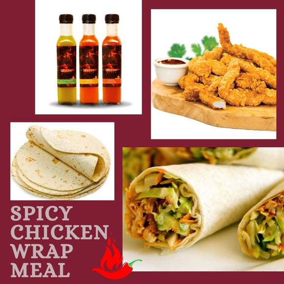 Spicy Chicken Wrap Meal
