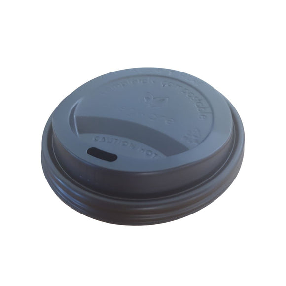 8oz Compostable Hot Cup Lids - CMKfoods