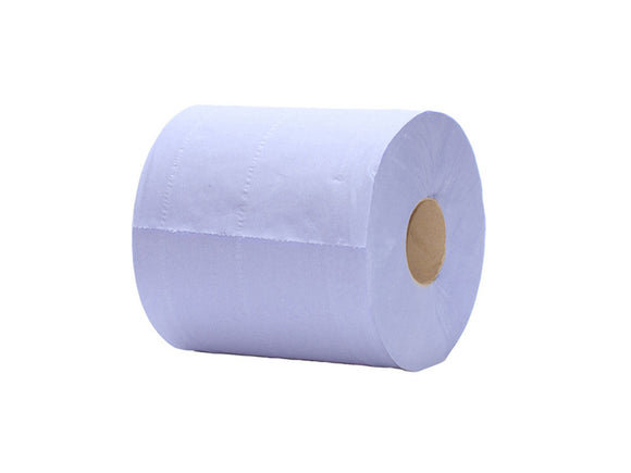 Large Blue Centre Pull Towel x 6 rolls - CMKfoods