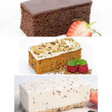Assortment of Cake slices (x10)