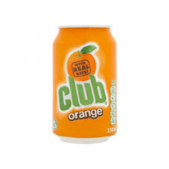 Club Orange cans x 24 - CMKfoods