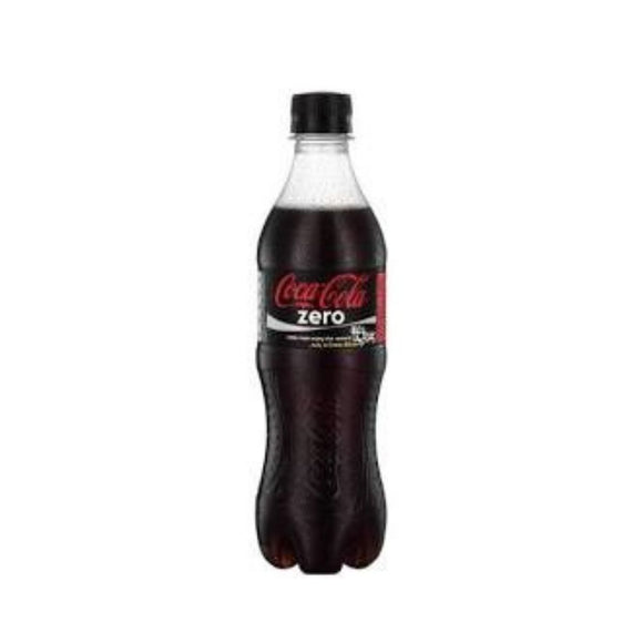 Coke Zero Bottles 500ml x 24