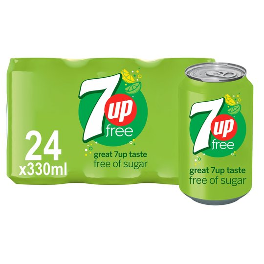 7 Up Free x 24 cans - CMKfoods