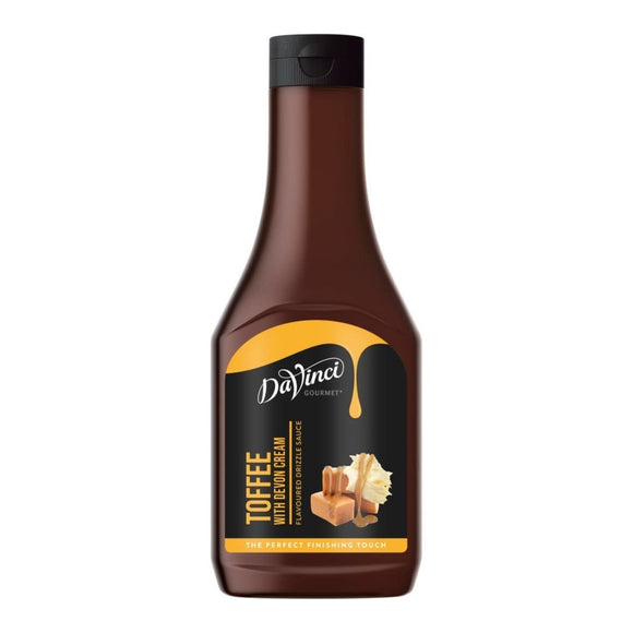 Da Vinci Toffee Sauce 500ml