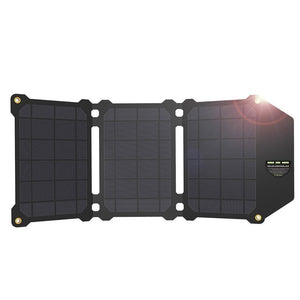 Folding Travel Dual USB Solar Charger - Online Store