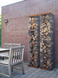 Zeno NETS Wood storage - RVS