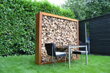 DIY Wood Divider houtopslag - 2100x380x2000 mm