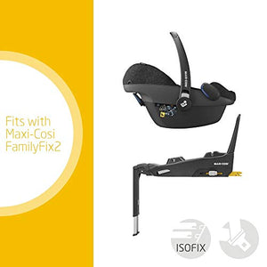 Maxi-Cosi Pebble Plus Baby Car Seat Group 0+, ISOFIX Car Seat, i-Size, 0-12 m, 0-13 kg, 45-75 cm, Nomad Black