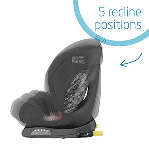 Maxi-Cosi Titan Toddler/Child Car Seat Group 1-2-3, Convertible, Reclining ISOFIX Car Seat, 9 Months - 12 Years, Basic Black