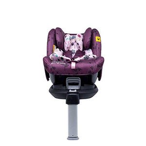 Cosatto All in All Rotate Baby to Child Car Seat - Group 0+123, 0-36 kg, 0-12years, ISOFIX, Extended Rear Facing, Anti-Escape, Easy Access (Fairy Garden)