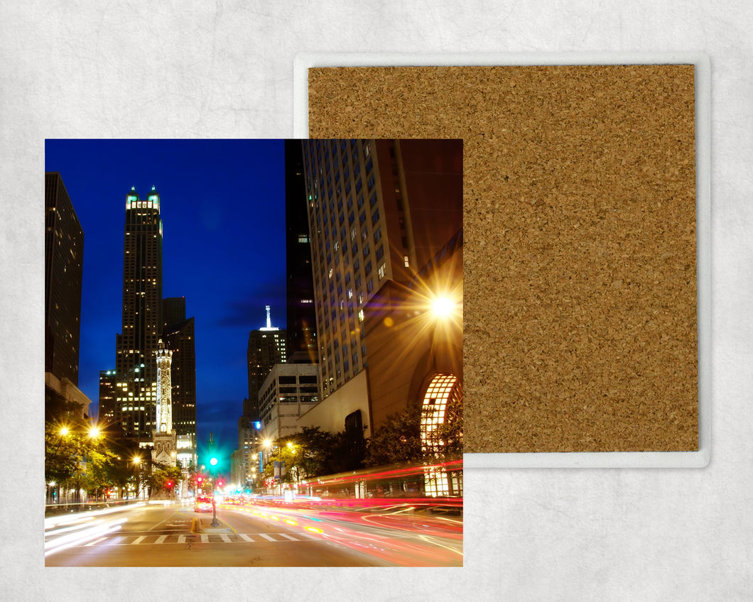 Sandstone Coaster: Chicago Michigan Avenue