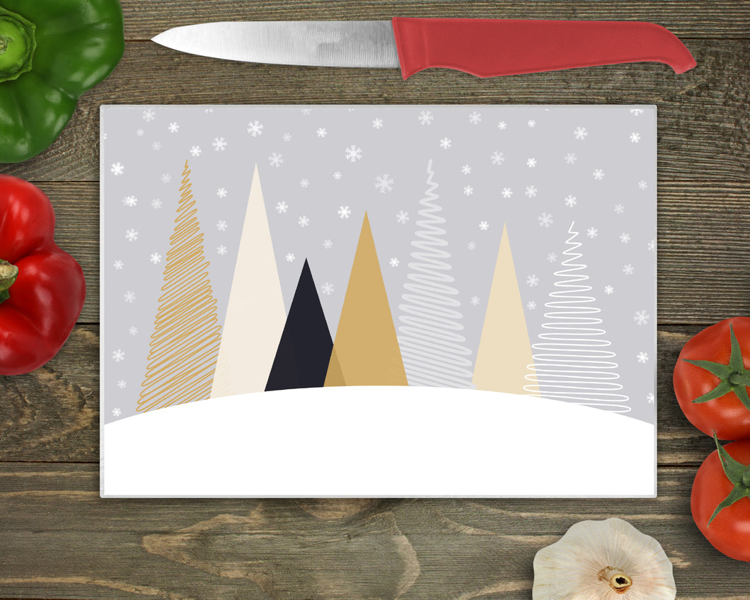 Cutting Board: Nordic Mountain