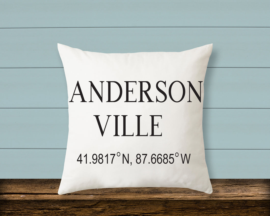 Pillow: Andersonville