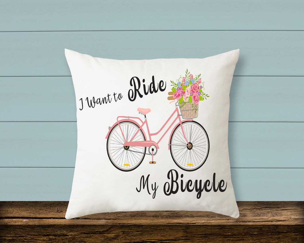 Pillow: I Want to Ride