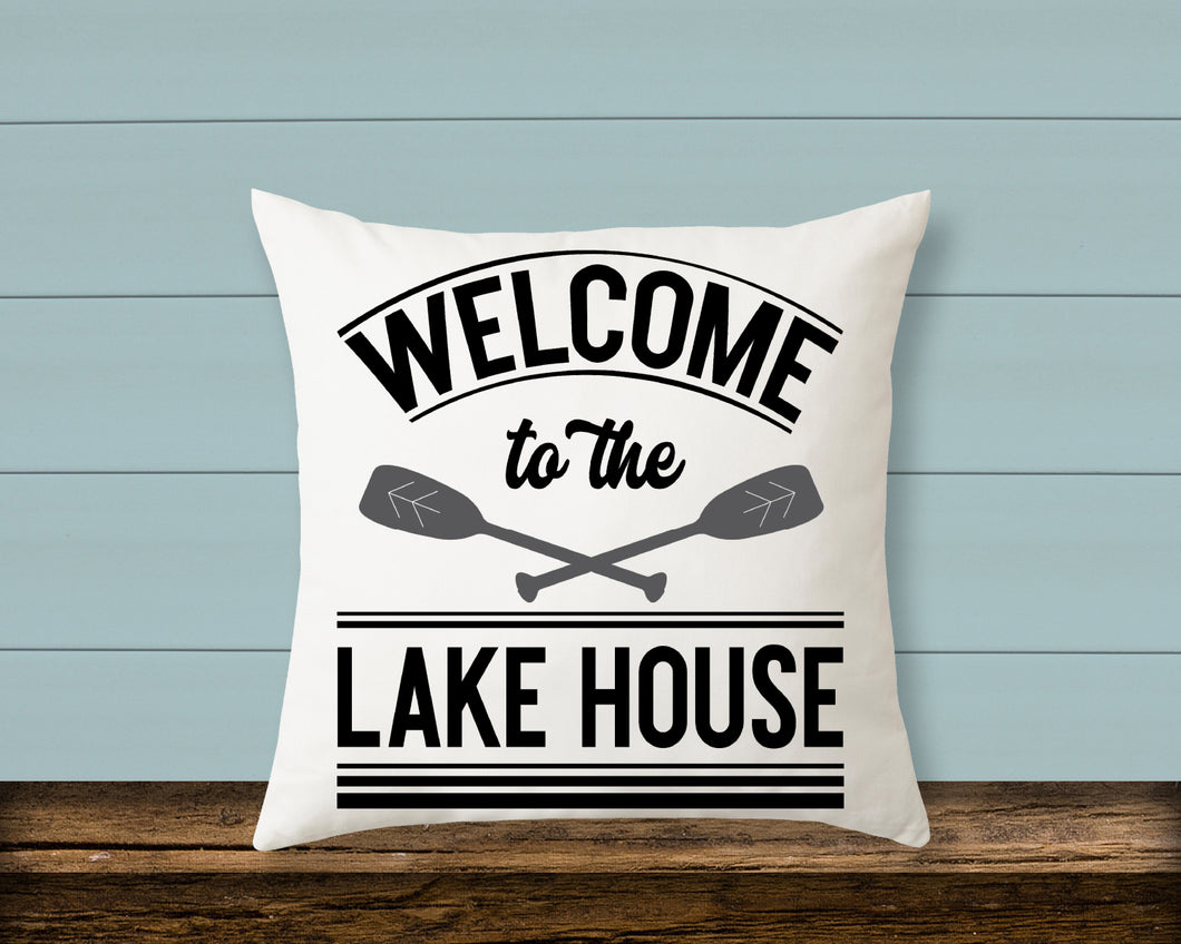 Pillow: Welcome to the Lake House