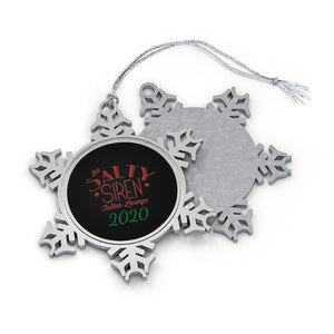 Pewter Snowflake Ornament - 2020
