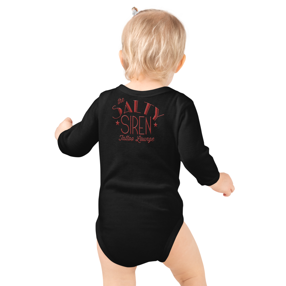 Raindeer Infant Long Sleeve Bodysuit