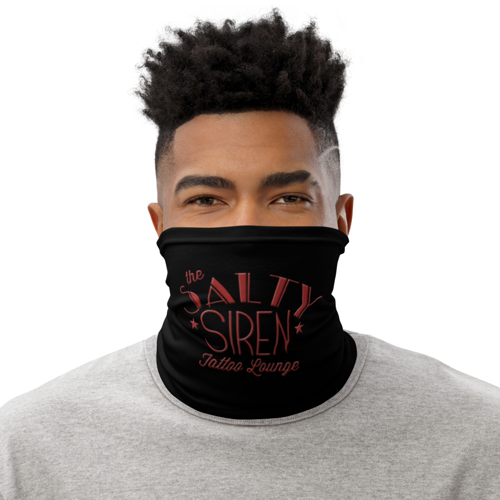 Red Logo Neck Gaiter