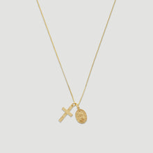 Load image into Gallery viewer, 14k protection necklace