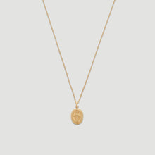 Load image into Gallery viewer, 14k blessed mary necklace