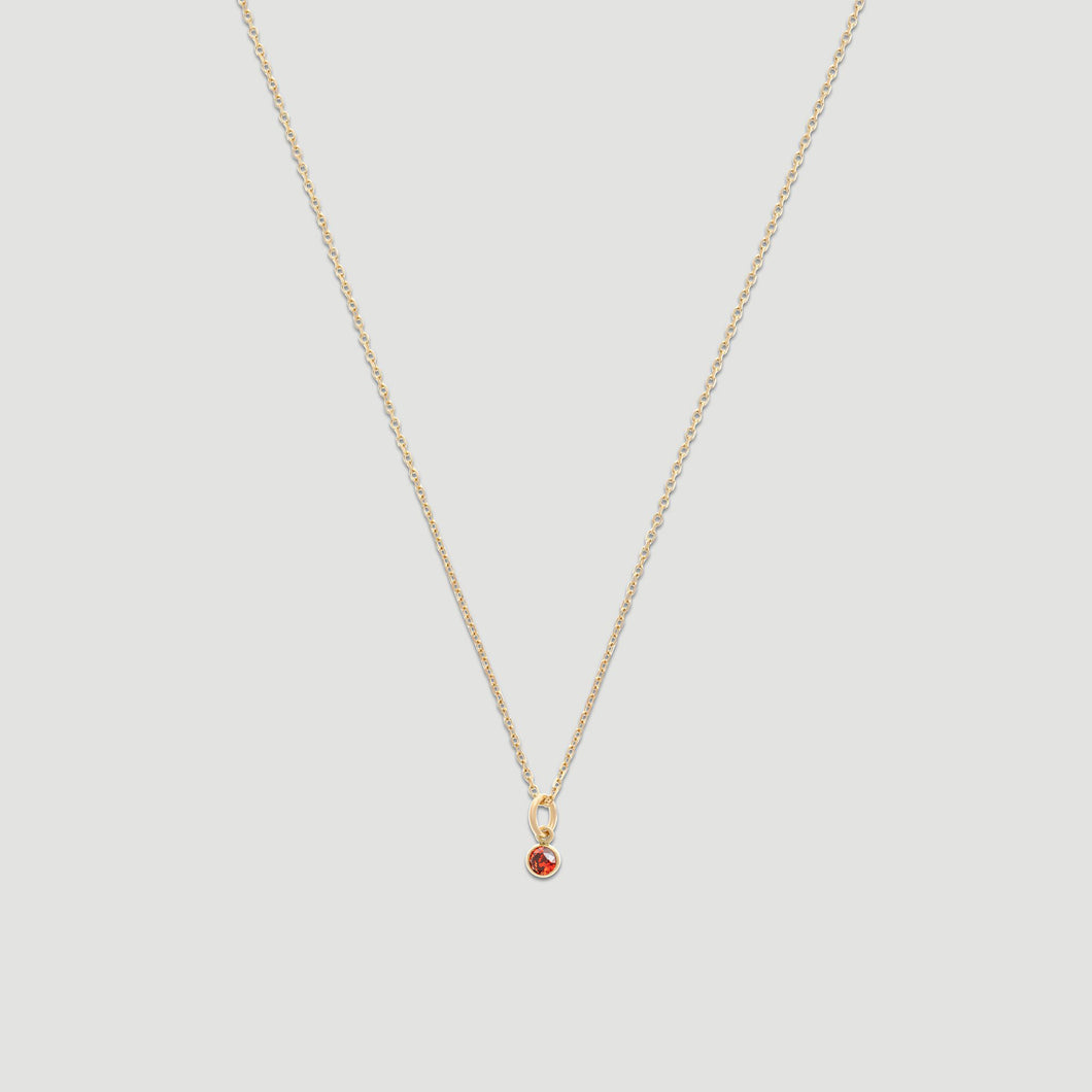 14k birthstone necklace (all 12 months)