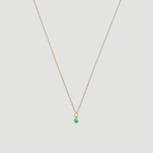 Load image into Gallery viewer, 14k birthstone necklace (all 12 months)