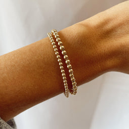 juno bracelet double stack (3+4mm)