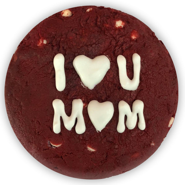 Red Velvet Cookie - I Love You Mom